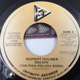 9143 - C - 45 RPM Record - Rupert Holmes - Escape(The Pina Colada Song)/Drop It - 1979