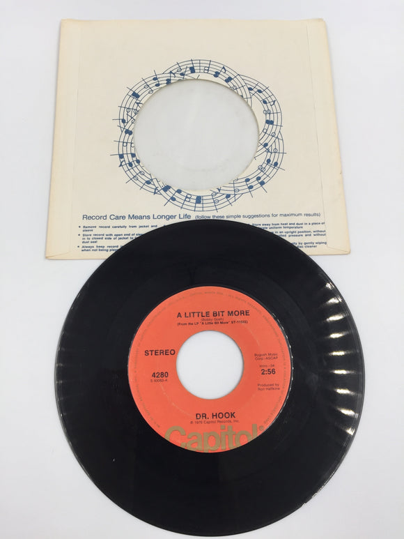 9157 - C - 45 RPM - Dr. Hook - A Little Bit More - 1976 - Capitol Records