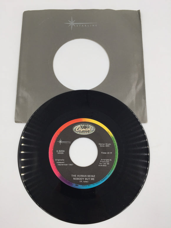 9165 - C - 45 RPM - The Human Beinz - Nobody But Me/People - I Love You - 1967/68