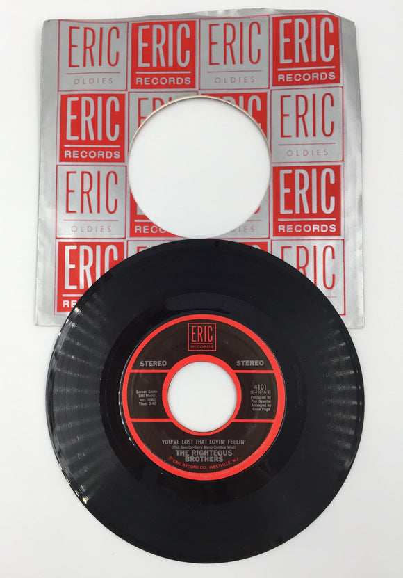 9206 - C - 45 RPM Record - The Righteous Brothers - You've Lost That Lovin' Feelin' - Eric Records