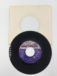 9218 - C - 45 RPM Record - Lionel Richie - All Night Long - 1983 - Motown Records