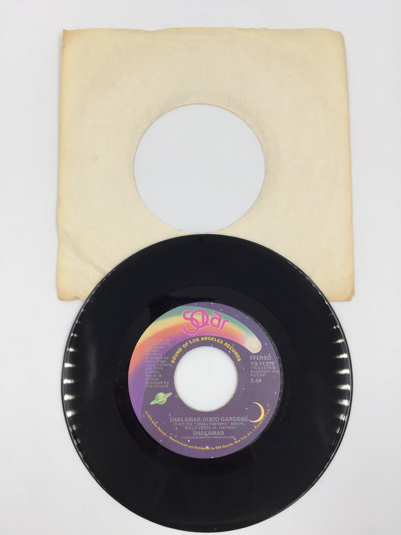 9226 - C - 45 RPM Record - Shalamar - Take That To The Bank - 1978 - Solar Records