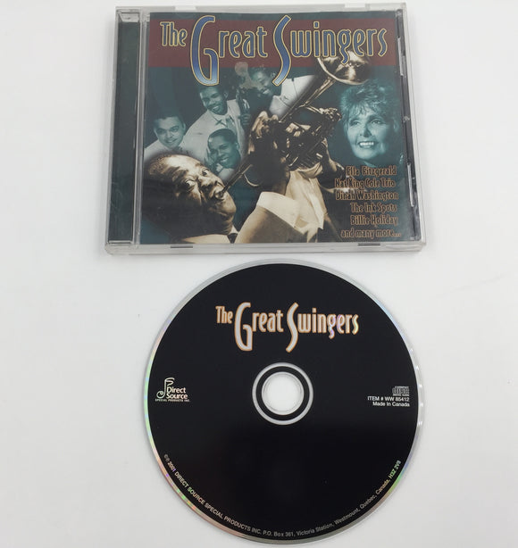 9270 - C - CD - The Great Swingers - Featuring Louis Armstrong, and More - 2001 - Direct Source Special Products