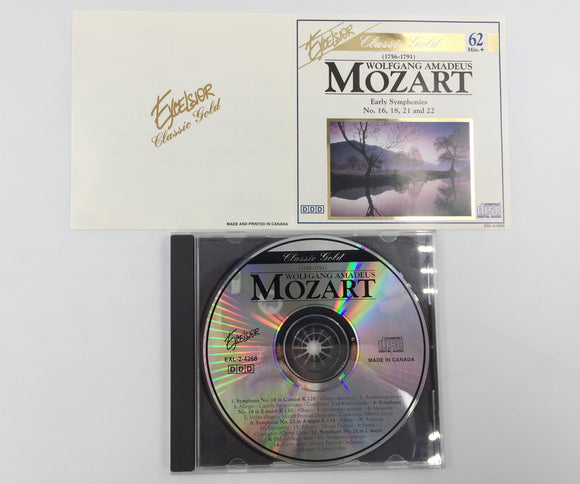 9275 - C - CD - Mozart - Early Symphonies No. 16, 18, 21 and 22 - 1993 - Madacy
