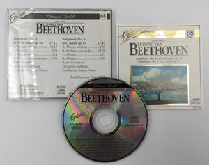 9282 - C - CD - Beethoven - Symphony No. 4 and 5  - 1993 - Madacy Music Group