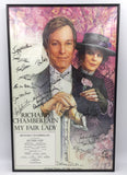 9301 - C - Poster - My Fair Lady - Framed - Autographed by Cast