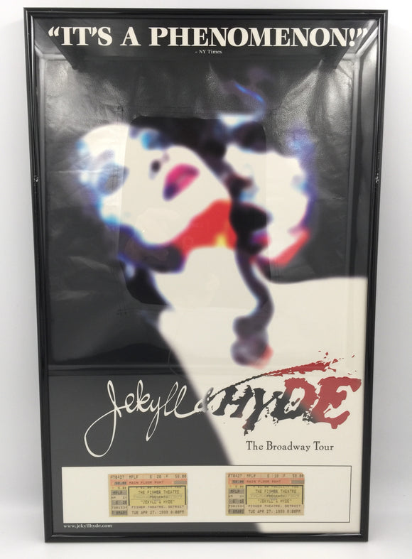 9302 - C - Poster - Jekyll & Hyde - The Broadway Tour - Fisher Theatre