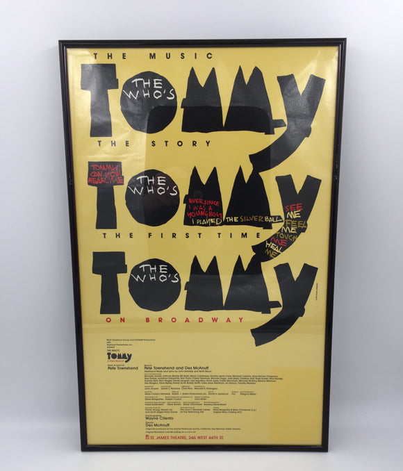 9303 - C - Poster - The Who's TOMMY - St. James Theatre
