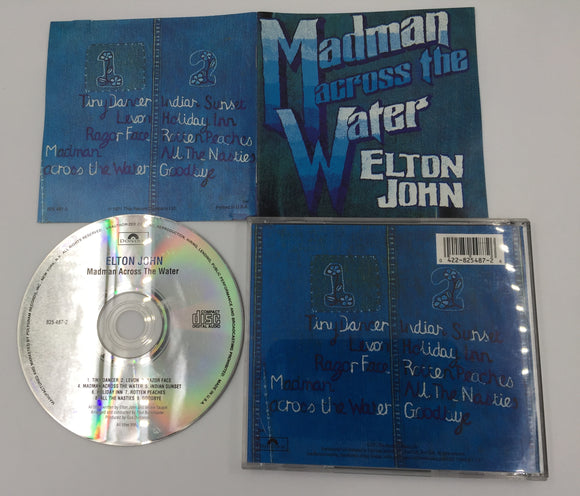 9313 - C - CD - Elton John - Madman Across the Water - 1971 - Polydor