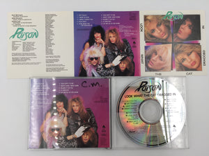 9323 - C - CD - Poison - Look What the Cat Dragged In - 1986 - Capitol Records