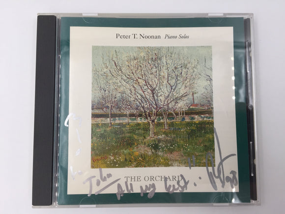 9350 - C - CD - Peter T. Noonan - The Orchard - Piano Solos - Autographed Cover