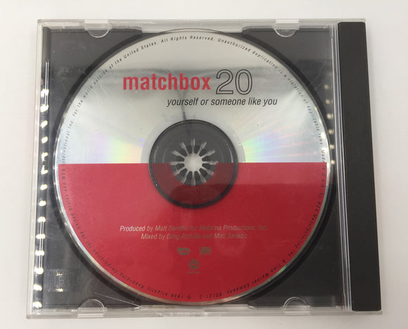 9356 - C - CD - Matchbox 20 - Yourself or Someone Like You - 1996 - Atlantic