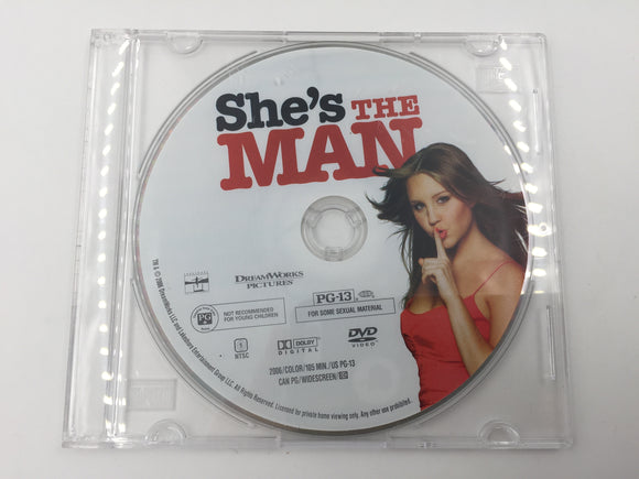 9363 - C - DVD - She's the MAN - 2006 - Dreamworks Pictures