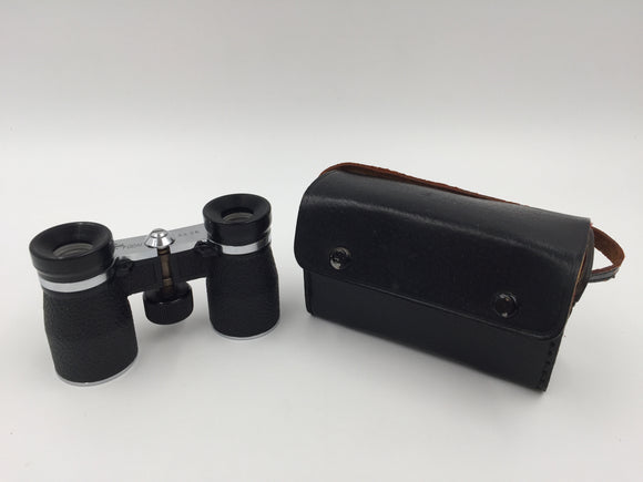 9428 - SP - Focal Brand Binoculars with Leather Case - 3 x 26 Fully Adjustable