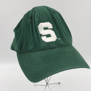 9449 - AP - Michigan State Spartans Ball Cap - Michigan State Spelled out on Back - All Cotton - Steve & Barry's Active Gear