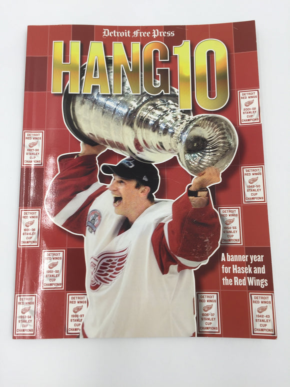 9477 - SP - Hang 10 - Detroit Red Wings - Biography 2002