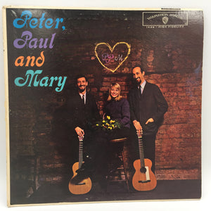9519 - C - Record Album - Peter, Paul & Mary - Warner Brothers 1962 - HiFi