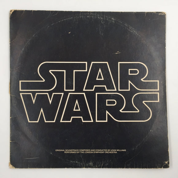 9555 - C - Record Album - Star Wars - The Original Soundtrack - 20th Century Records 1977