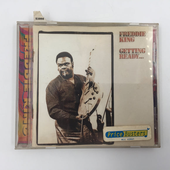 9583 - C - CD - Freddie King - Getting Ready - Shelter Records 1971