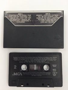 9593 - C - Cassette Tape - The Best of Andrew Lloyd Weber - The Premiere Collection - MCA-Canada 1988