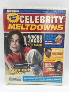 9659 - H - Celebrity Melt Downs - Pop-Up Book - 3D Parody of Your Favorite Stars