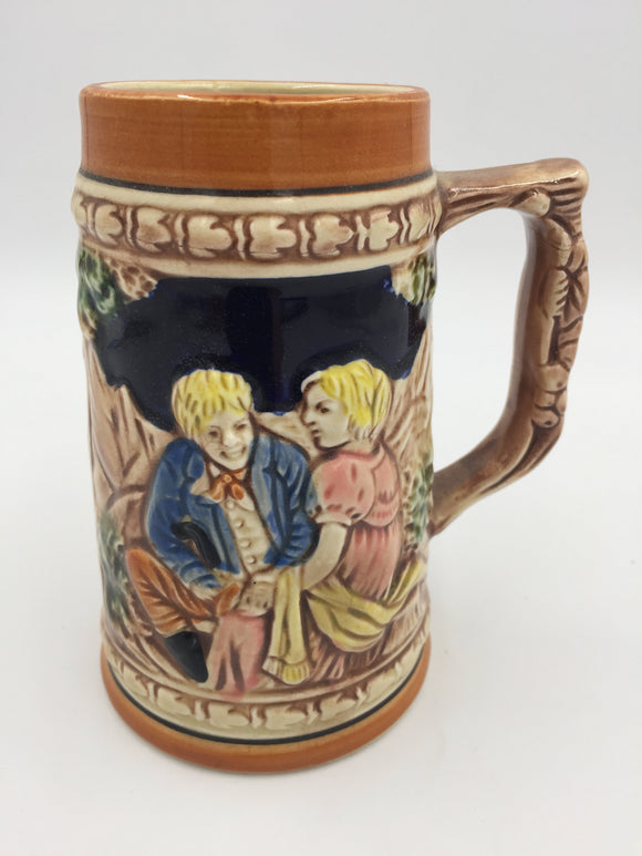 9701 - C - Beer Stein - Parma by AAI - Hand Painted - Made in Japan