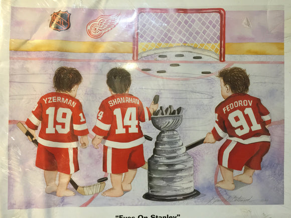 9752 - SP - Poster - 1997 Detroit Red Wings  -