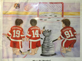 "9752 - SP - Poster - 1997 Detroit Red Wings  - ""Eye On Stanley"" - Kenneth Gatewood"