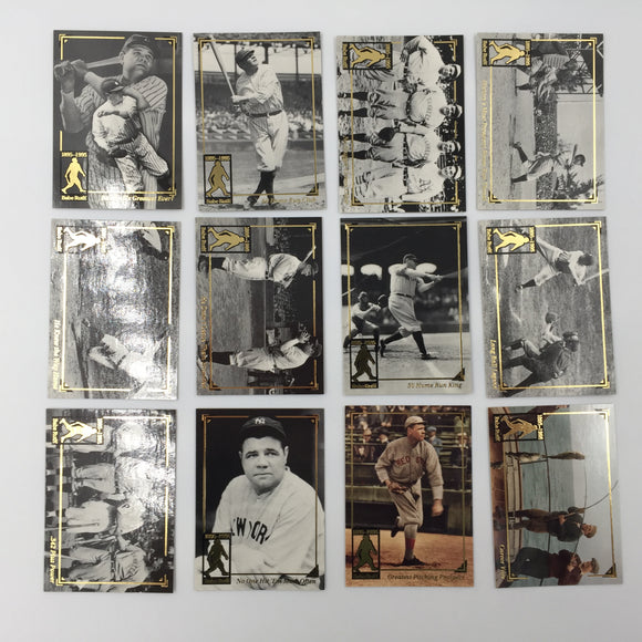 9760 - C - Trading Cards - Megacards Cooperstown Collection - 1895-1995 - Babe Ruth