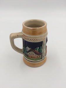 9781 - C - Miniature Ceramic Beer Stein - Made in West Germany
