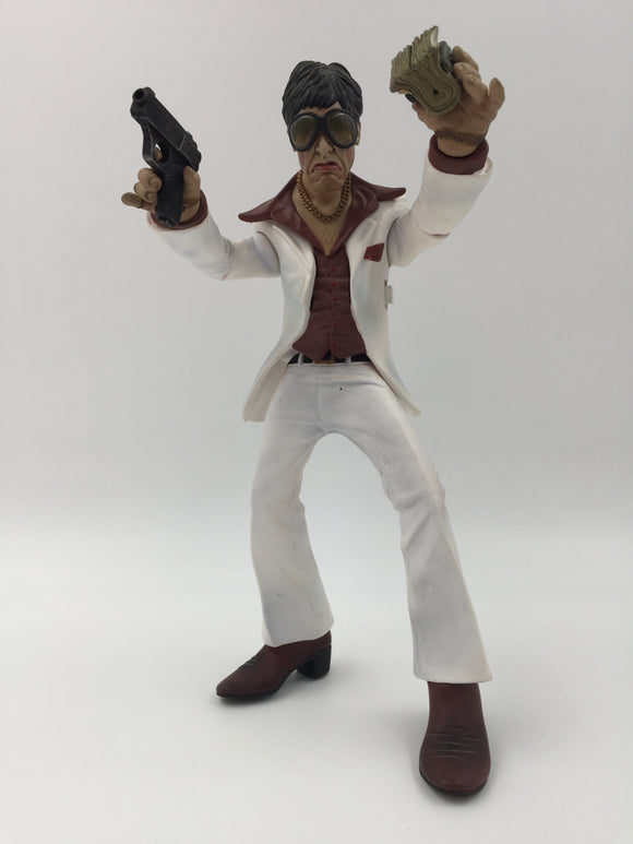 9820 - T - Al Pacino Scarface Action Figure - Talks - Battery Operated - Arms Move