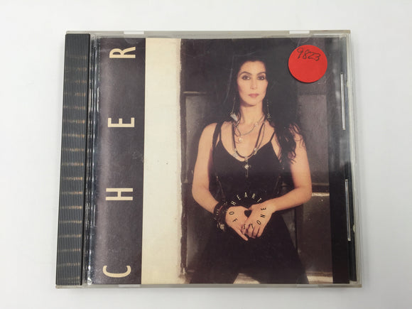 9823 - C - CD - Cher - Heart of Stone - 1989 - Geffen Records - Warner Bros.