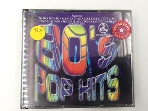 9831 - C - CD - 80's Pop Hits - 3 CD Set - 2001 - Sony Music Entertainment - 40 Songs