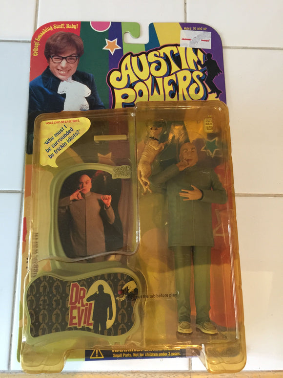 8210 - Austin Powers - Dr. Evil Figurine - New in Box