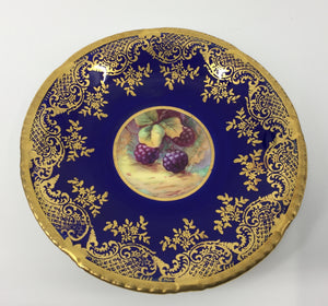 8682 - H - Plate - Paragon Fine Bone China #579344 to Her Majesty Queen Elizabeth - Golden Harvest