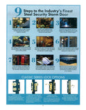 "229B - Cottage Plank Security Door - 30""w x 79""h  RH - ""In-Store PICK-UP Only"""