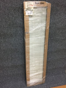 "3 - Insulated Glass - with White blinds - 12-3/8""w x 54-3/8""h ""In-Store PICK-UP Only"""