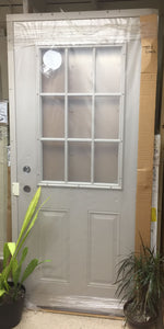 "287B - D - Insulated Steel Entry Door - 36""w x 80h"" - Left Hand In Swing - Sandstone Color In & Out -"