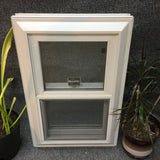 "52 - W - Double-Hung - 18 3/4""w x 29 1/4""h - White Out and In - Low E Argon"
