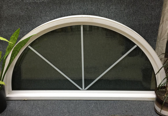 394 - Half Round - Insulated Glass - 59 1/2