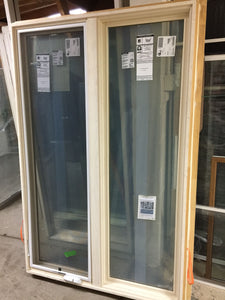 "348 - Twin COR-Fixed Casement with screen - 47 1/2""w x 72""h ""In-Store PICK-UP Only"""