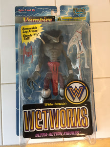 8222 - C - Vampire Ultra Action Figurine - Wet Works - New in Display Box