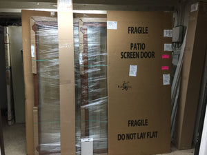 "415C - Gliding Patio Door w/Blinds - 70 3/4 ""  x 79 1/2 "" ""In-Store PICK-UP Only"""