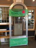 "271D - Circle-Top Storm Door - 34""w x 80h"" - Mill Finish ""In-Store PICK-UP Only"""