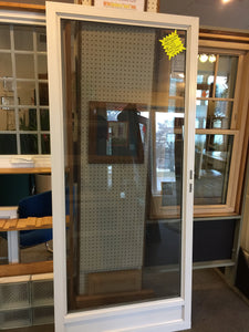 "287M - Storm Door - 36""w x 80h""- White Color - ""In-Store PICK-UP Only"""
