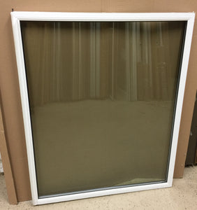 "318B - W - Sash - 42""w x 34 3/4""h - Sandstone Out and White In - Low E Argon"