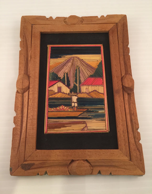8512 - A - Wood Art - Hand Crafted in Mexico
