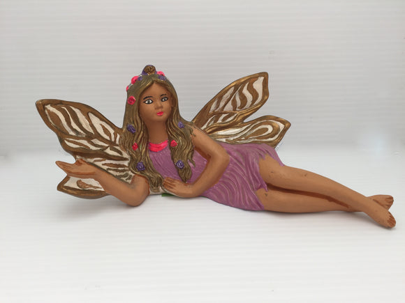 8430 - H - Fairy Figurine -Laying on Side