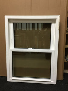 "150 - W - Double-Hung - 25""w x 36""h - White Out and In - Low E Argon"
