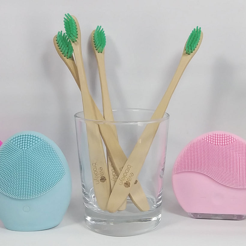 Eva Brooklyn Bamboo toothbrush- Biodegradable